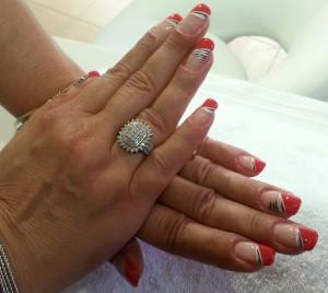 Ongles Magnolia.Extension d'ongles,Renforcement des ongles naturels,Beauté des pieds, gainage gel sur pieds, Forfait pour les ongles rongés.