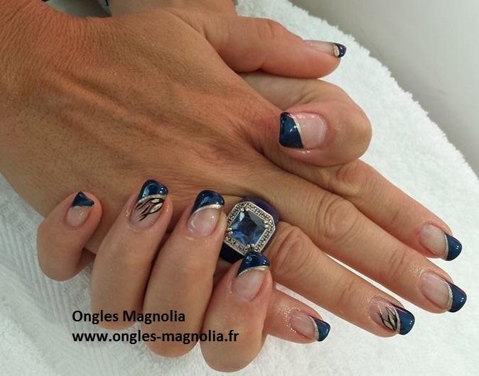 Ongles Magnolia pose d'ongles en gel faux ongles situé à Neuville sur Saône près de Lyon