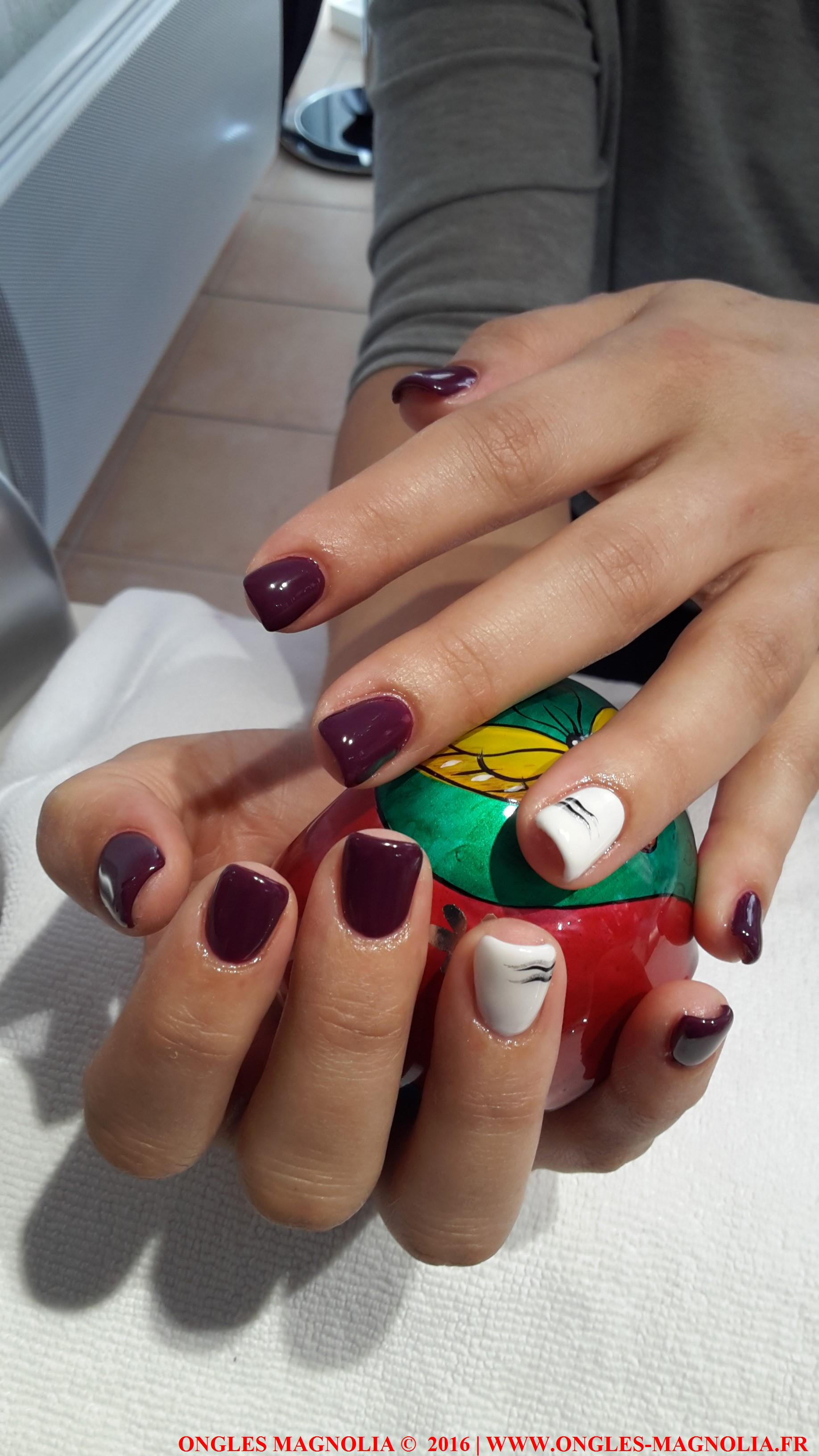 Pose ongles nail art neuville sur saone lyon ongles magnolia
